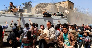 وصول قافلة مساعدات إلى مدينة دوما السورية لأول مرة منذ 3 شهور