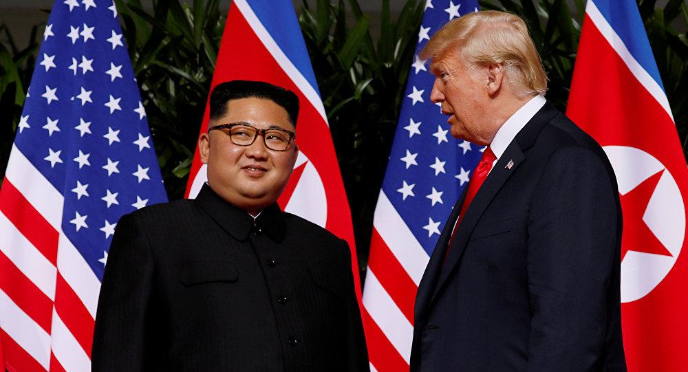 ترامب خلال لقائه مع كيم جونغ أون: سيكون لدينا علاقات ممتازة