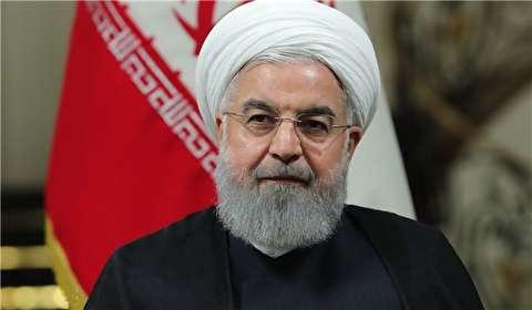 روحاني: الاعداء غاضبون من نجاحات الشعب الايراني