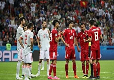 هدف بالحظ يقود إسبانيا للفوز علي ايران في المونديال