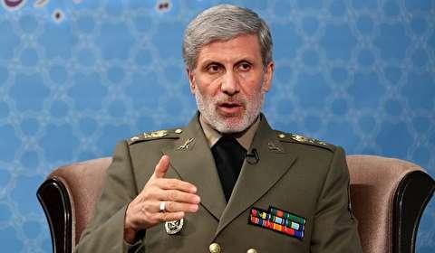 وزير الدفاع الايراني: محاولات اميركا المستمرة لتقسيم المنطقة ستبقیها في دوامة صراعات