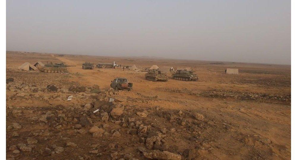 أول مواجهة برية... الجيش السوري يستهدف عربات أمريكية