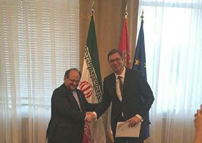 رئيس صربيا: سنواصل تطوير التعاون مع يران رغم الضغوط الغربية