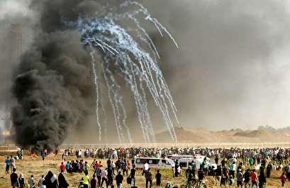 جيش الاحتلال يُصيب 14 فلسطينيا قرب حدود غزة