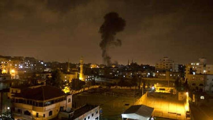 غارات إسرائيلية على شمالي غزة وحماس ترد بـ12صاروخا
