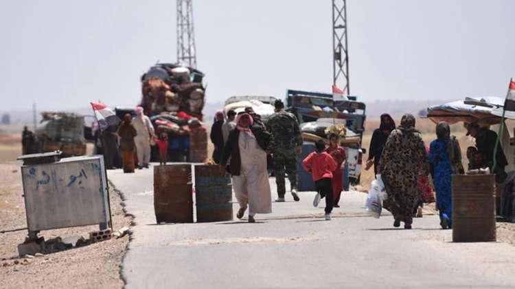 مركز المصالحة الروسي: عودة أكثر من 177 ألف مدني إلى منازلهم في حمص والغوطة الشرقية