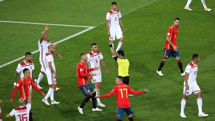 الفيفا يغرم المغرب بعد مباراة كأس العالم 2018