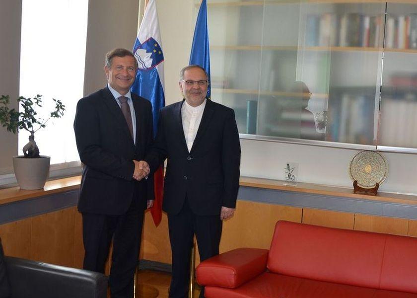 وزیر خارجیة سلوفینیا یؤكد دعم بلاده للاتفاق النووی