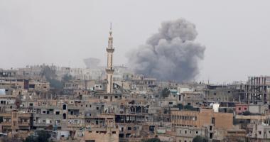 سلاح الجو الاسرائيلى يشن سلسلة غارات على قطاع غزة