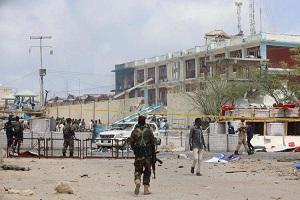 انفجار كبير في العاصة الصومالية مقديشو