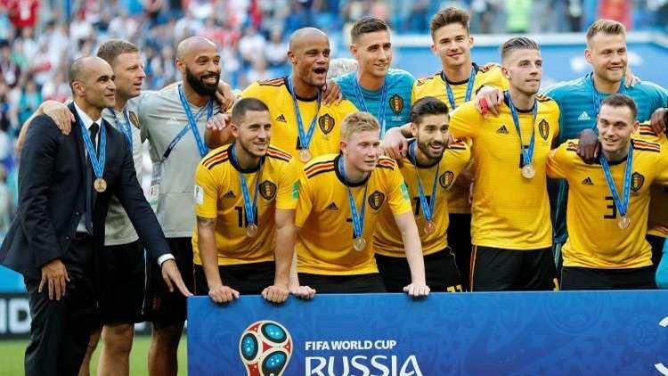 أول تصريح لمدرب بلجيكا بعد برونزية مونديال روسيا