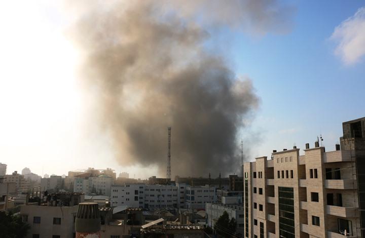شهيدان في انفجار غامض بمبنى غربي مدينة غزة