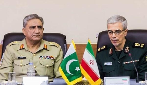 طهران وإسلام آباد تتفقان علی توثیق التعاون في مجال الحدود