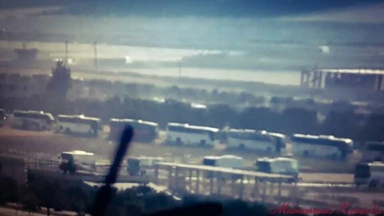 دخول حافلات إلى الفوعة وكفريا في سوريا بانتظار تنفيذ اتفاق إجلاء سكانهما