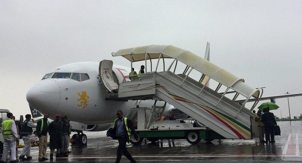 رإقلاع أول رحلة للخطوط الجوية الإثيوبية إلى إريتريا منذ 20 عاما