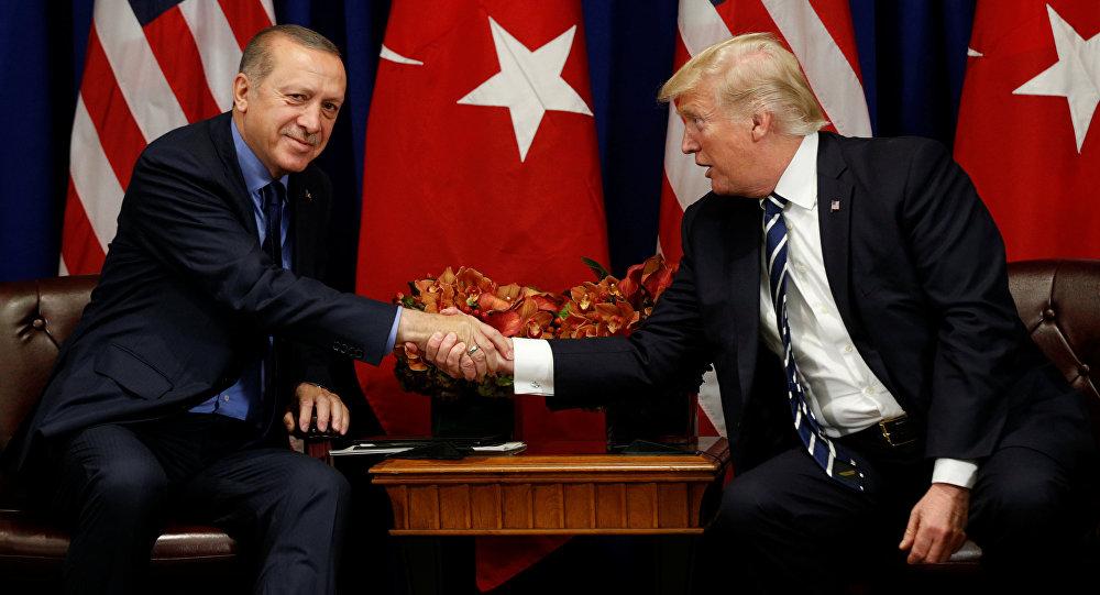 ترامب يوجه رسالة لأردوغان على