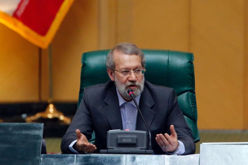 لاریجاني: الشعب الايراني لايساوم علي كرامته