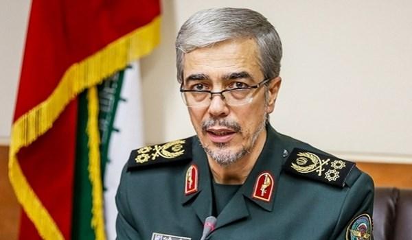 اللواء باقري: الحكومة الاميركية خططت لشن هجوم عسكري على ايران