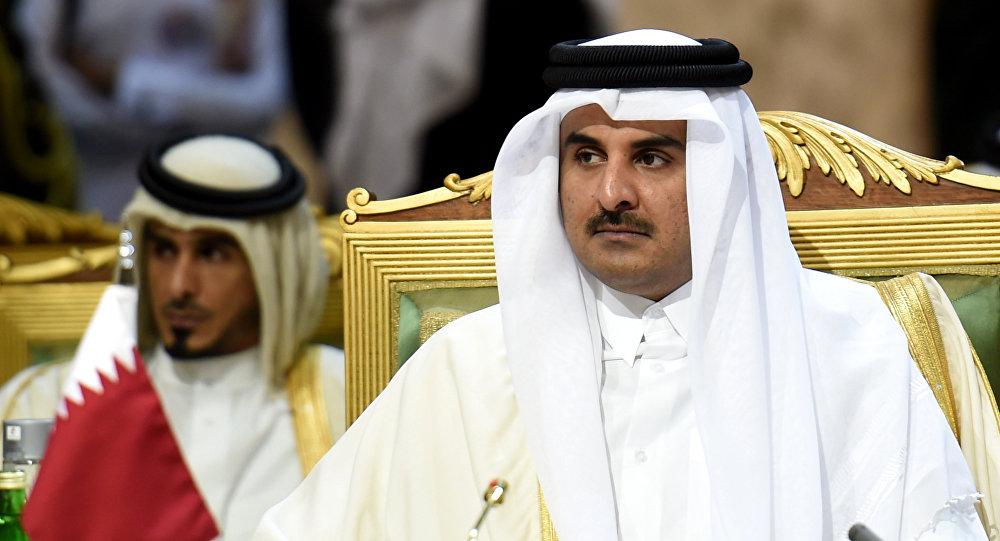 زيارة لأمير قطر هي الأولى منذ الأزمة الخليجية