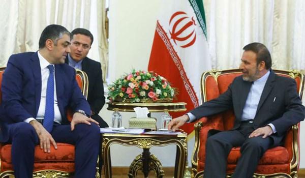 واعظي: علاقات طهران وباكو اخوية ومتنامية