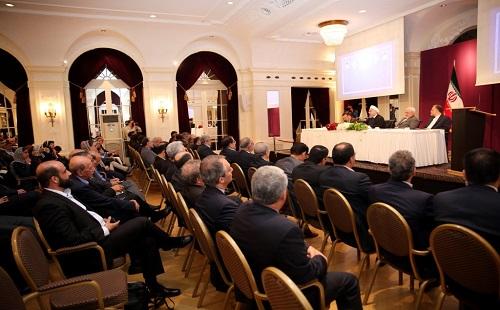 الرئيس روحاني: الشعب الايراني لن يرضخ للضغوط ابدا