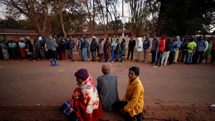 أول انتخابات رئاسية في زيمبابوي بعد استقالة موغابي