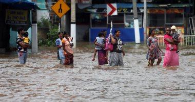 مصرع 7 أشخاص وإصابة 7 آخرين وخسائر مالية كبيرة بسبب الأمطار فى الصين