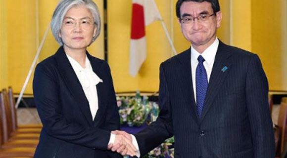 وزراء خارجية اليابان وكوريا الجنوبية و الامریکا يجتمعون بشأن كوريا الشمالية