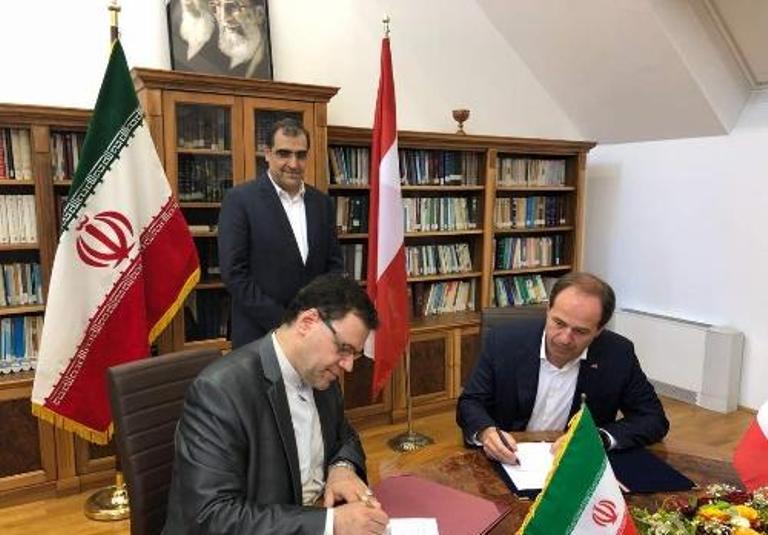 إيران والنمسا توقعان أربع وثائق للتعاون الصحي