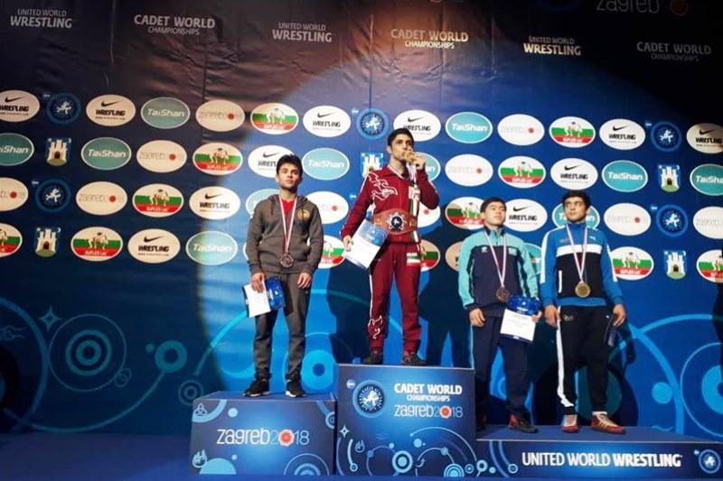 ناشئة ايران يحصدون 4 ميداليات ملونة في بطولة العالم للمصارعة الرومانية