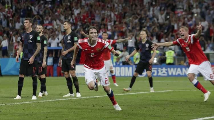 الكرملين: بوتين شاهد مباراة روسيا مع كرواتيا ويعتبر لاعبينا أبطالا
