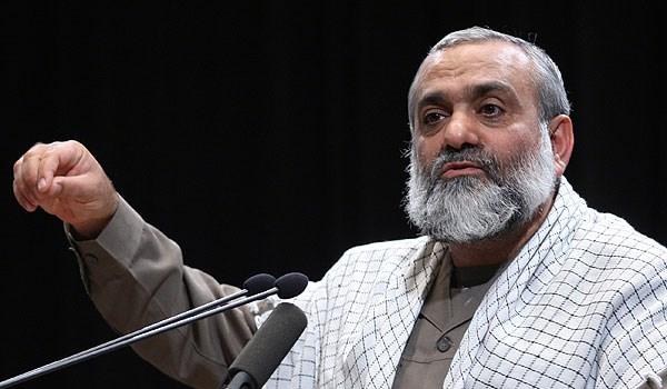 العميد نقدي: اذا ارتكبت امریكا حماقة فستواجه برد قاس من الشعب الايراني