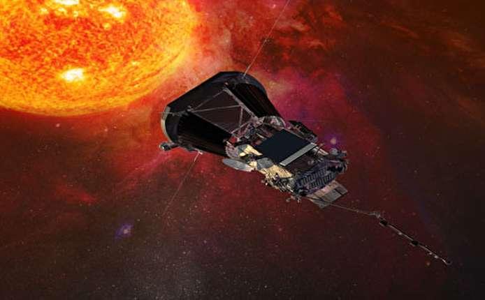 ناسا تنشر صورا توضيحية لأول تجربة لملامسة مسبار لسطح الشمس