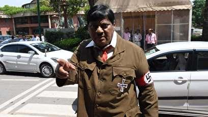 نائب بزي هتلر في البرلمان الهندي!