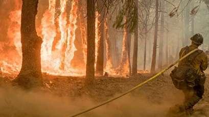 أكثر من 100 حريق ضخم في الولايات المتحدة