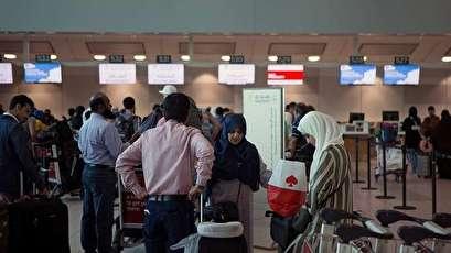 تأخر رحلات الخطوط السعودية يربك صالات مطار الرياض