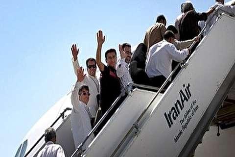 اختتام عملیات نقل الحجاج الايرانيين جوا الى الديار المقدسة