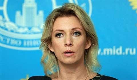 """زاخاروفا: تصريحات السفير الأمريكي في لندن حول إيران """"خاطئة وغير ملائمة"""""""