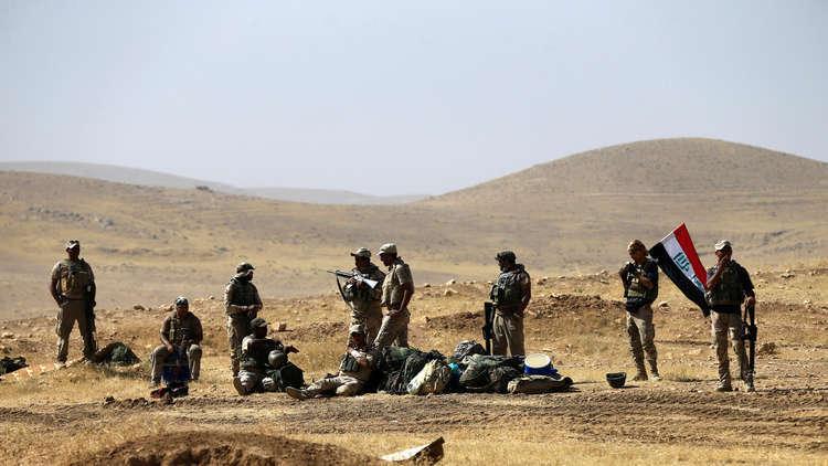 القوات العراقية تسيطر على معسكر الشيخين التابع لـ