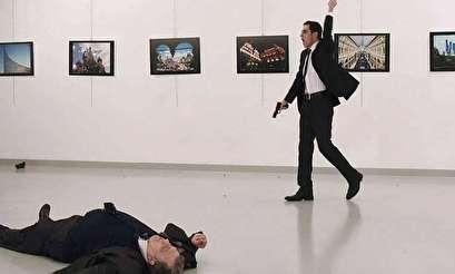 """صور جديدة لقاتل السفير الروسي تكشف مفاجأة """"يوم الاغتيال"""""""