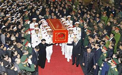 صور.. فيتنام تودع الرئيس تران داى كوانج فى جنازة عسكرية