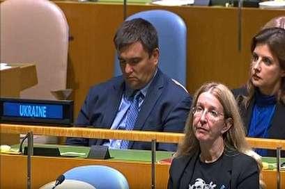بالفيديو... نوم عميق لوزير خارجية أوكرانيا أثناء كلمة رئيسه بالأمم المتحدة
