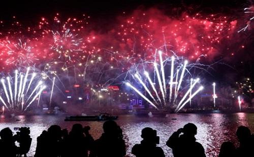 بالصور.. احتفالات العالم ببداية 2019