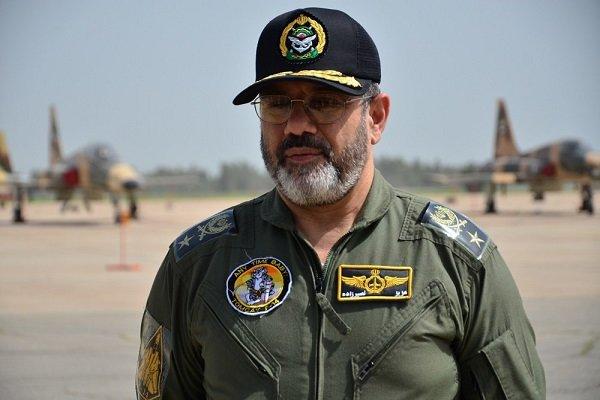 قائد سلاح الجو الايراني: لا حاجة للقوات الاجنبية لتوفير امن المنطقة