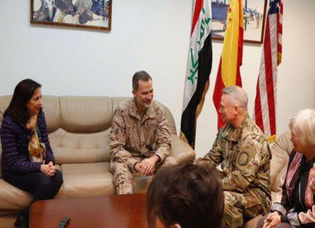ملك إسبانيا يزور العراق للمرة الأولى منذ 40 عاما