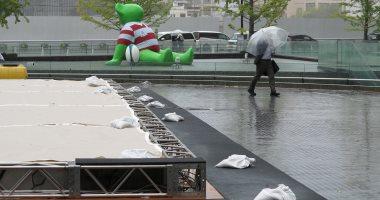 قتيل فى اليابان مع اقتراب إعصار