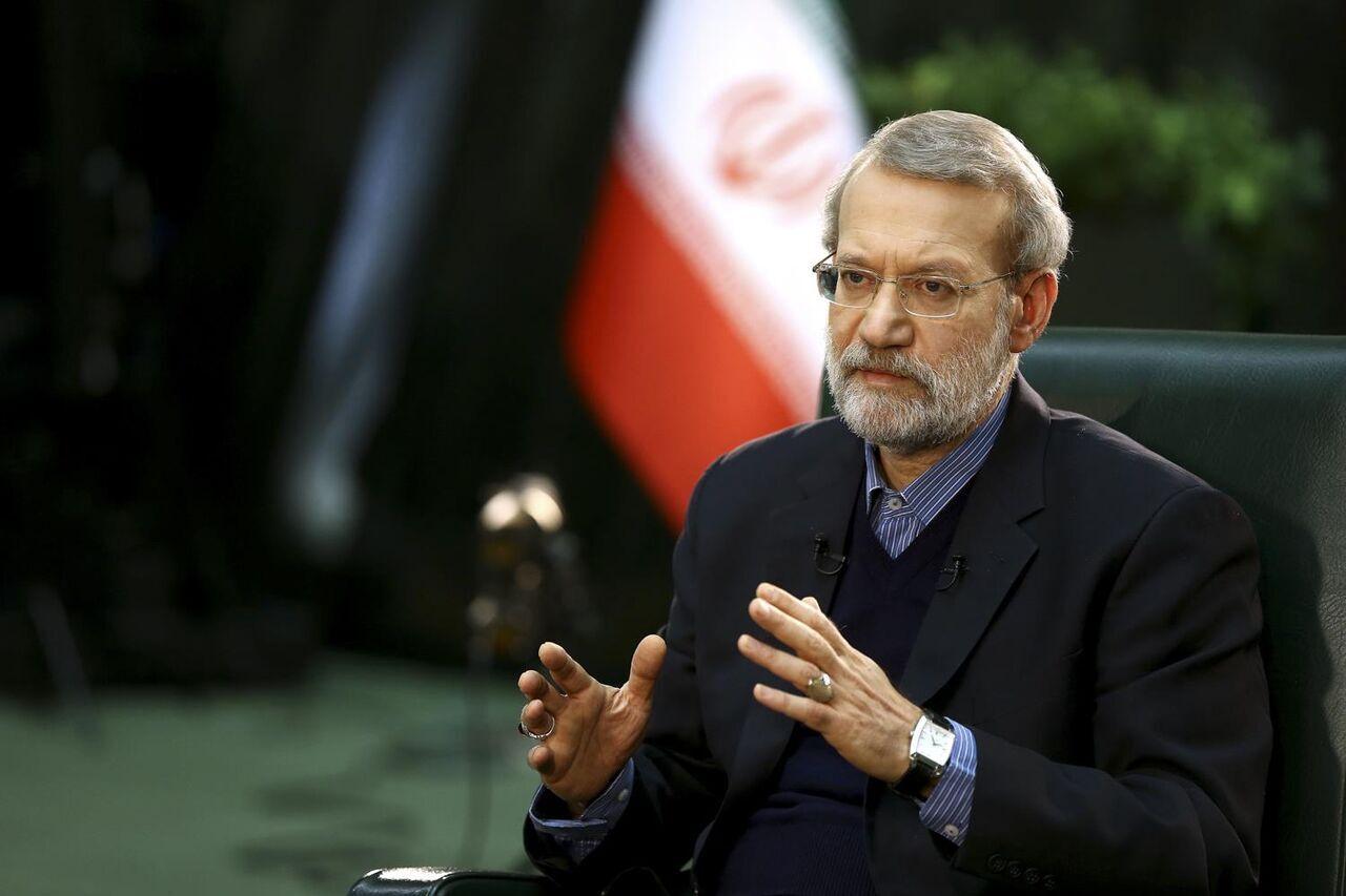 لاريجاني: خطوات جيدة اتخذت لتعزيز التعاون التجاري بين ايران وقطر