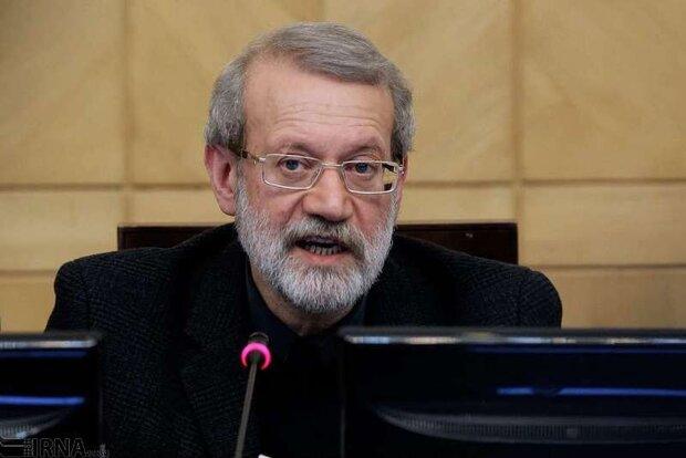 لاريجاني: الازمة في سوريا واليمن لا تنحل عبر الاجراءات العسكرية بل عبر الحوار