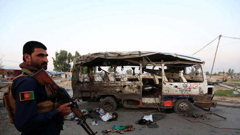 أفغانستان.. قتلى وجرحى بتفجير شاحنة مفخخة تبنته طالبان