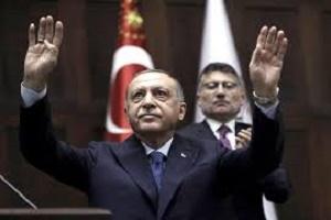 أردوغان يؤكد استمرار مساعي تركيا للانتشار في شمال شرق سوريا